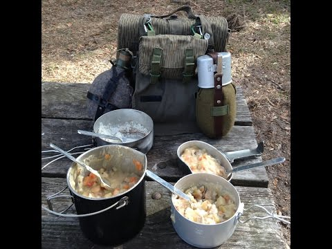 The Romanian Army Canteen Review and Pork Stew Lunch.