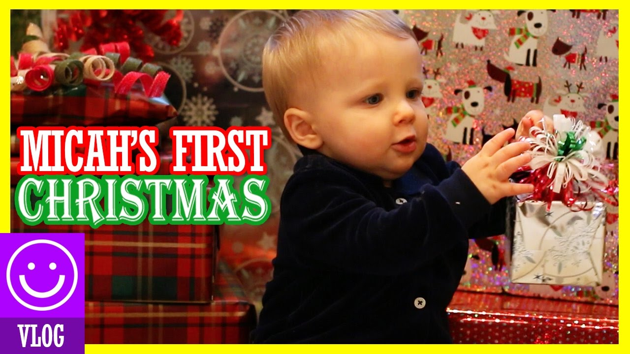 CHRISTMAS DAY! OPENING GIFTS! BABY'S FIRST CHRISTMAS