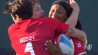 Best tries from the women's Rugby World Cup Sevens
