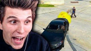 Er VERWANDELT meinen Wagen in ein RAKETENAUTO | GTA5 Online
