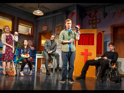 "Review of ""Hand To God"" at Booth Theatre"