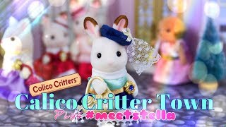 Unbox Daily: Calico Critter Town PLUS The Frog Vlog New York City #MeetStella