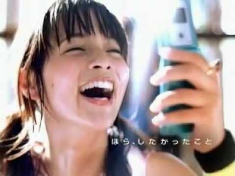 加藤ローサ ボーダフォン CM スチル画像。CM動画を再生できます。