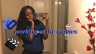 what it's like working at the movies:)