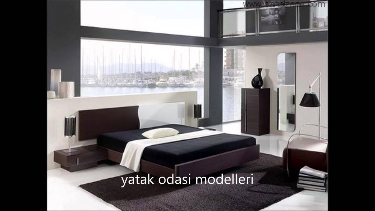 2016 modern yatak odası modelleri - YouTube
