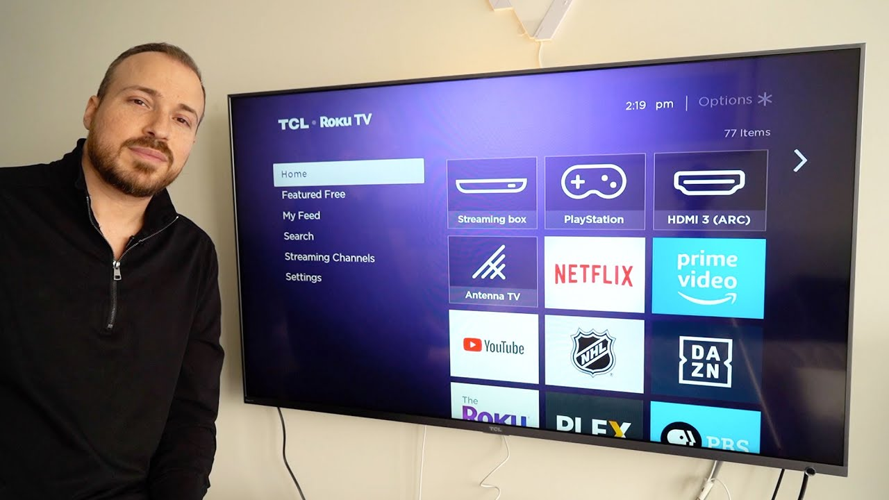 Tcl 55 Inch 6 Series 55r615 4k Smart Tv Blogger Review Youtube