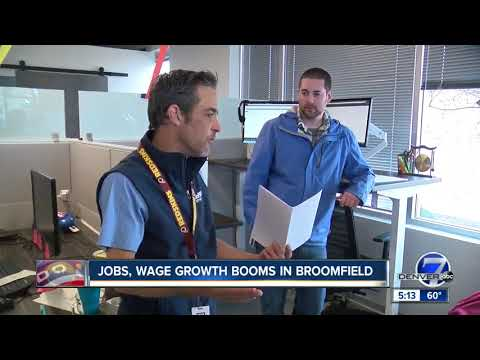 Jobs, wage growth booms in Broomfield