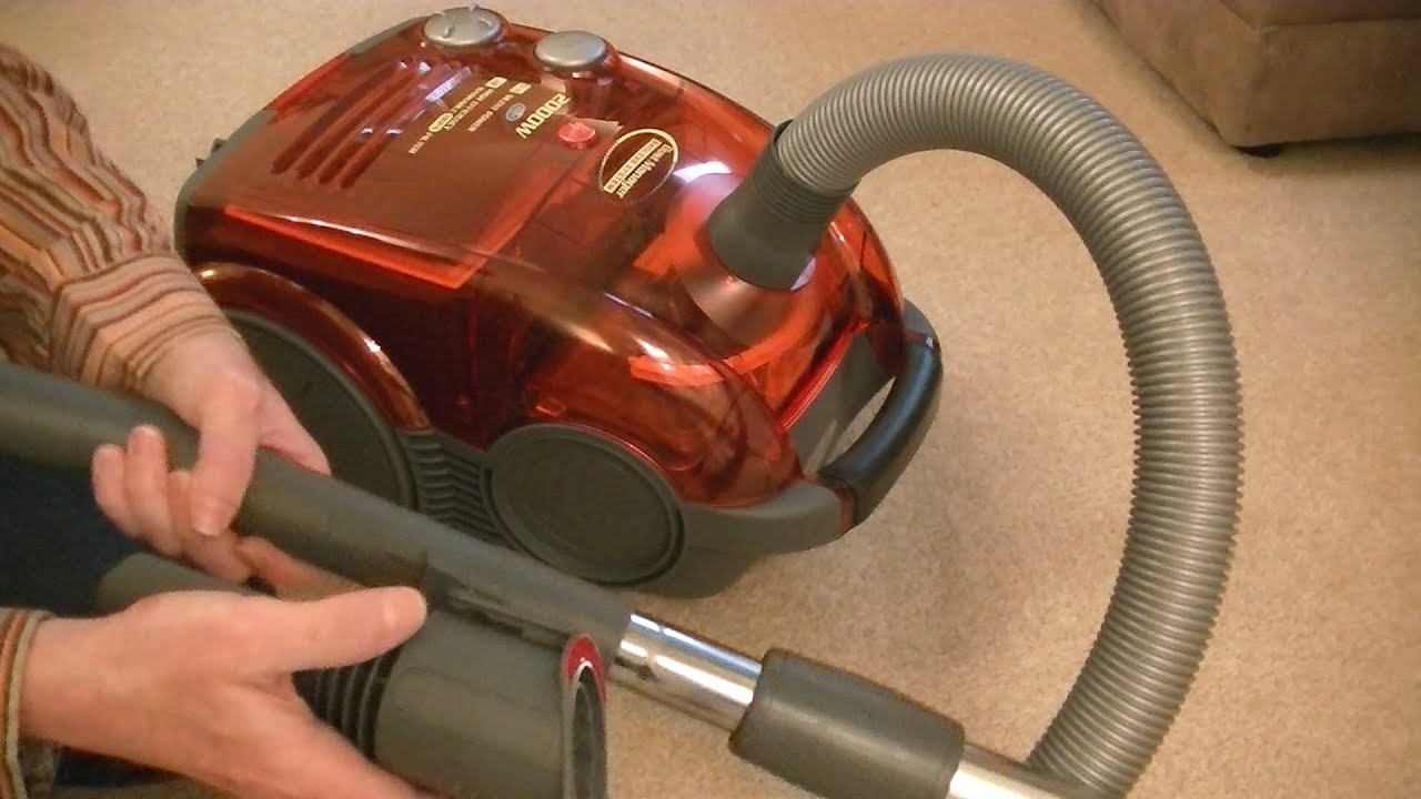 hoover sensory dustmanager bagless cylinder vacuum cleaner unboxing youtube. Black Bedroom Furniture Sets. Home Design Ideas
