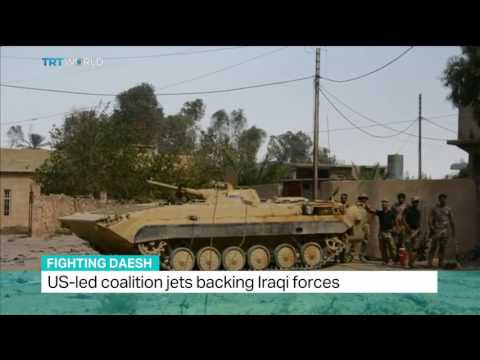 Fighting Daesh: Iraqi forces push into important oil town, Nicole Johnston reports