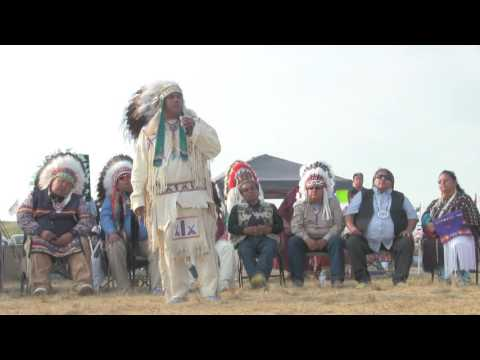 Yakama Tribal Council Chairman JoDe Goudy Speaks At Standing Rock #NoDAPL