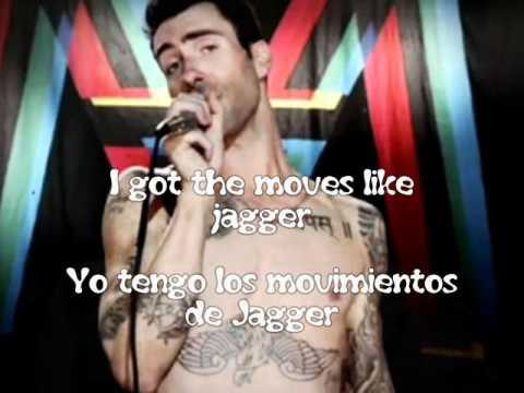 Maroon 5 Feat Christina Aguilera Moves Like Jagger Subtitulos Español Ingles Youtube
