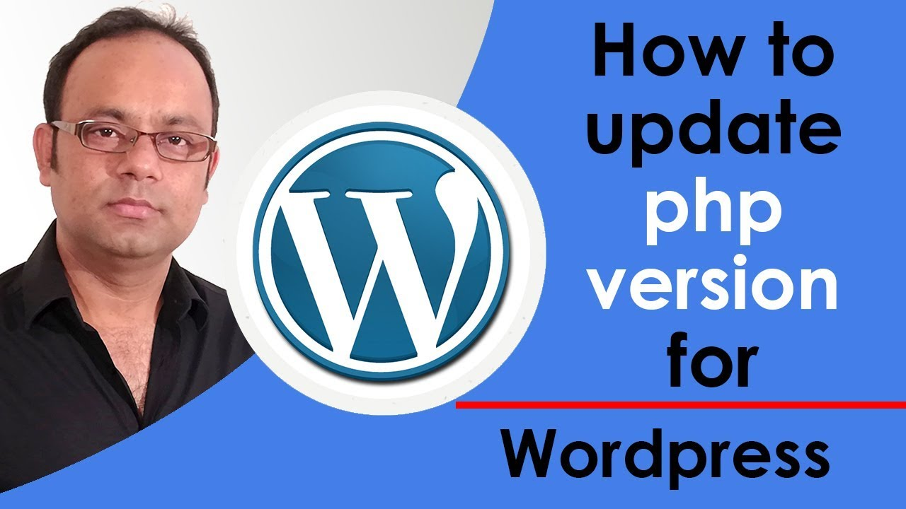 how to update php version for wordpress