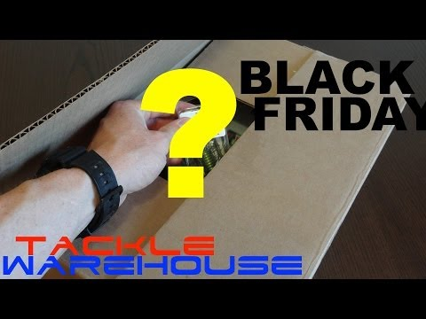 The DEFINITIVE Tackle Warehouse Black Friday un-boxing!