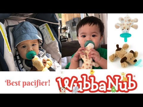 Best Infant Pacifier - WubbaNub Infant Pacifier