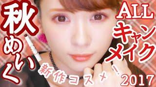 【ALLキャンメイク】秋の新作コスメ秋メイク♡【レビュー付き】