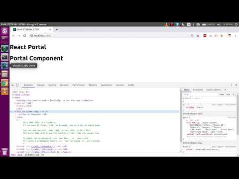 Reactjs 16 tutorial #30  React Portals thumbnail