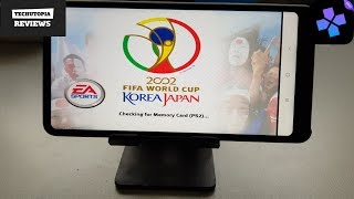 2002 FIFA World Cup Korea Japan DamonPS2 Pro PS2 Games on smartphones/Android/Gameplay