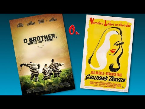 """Preston Sturges/ CoenBros.'s """"Sullivans Travels/ O Brother Where Art Thou"""" Films Discussed By IMG"""