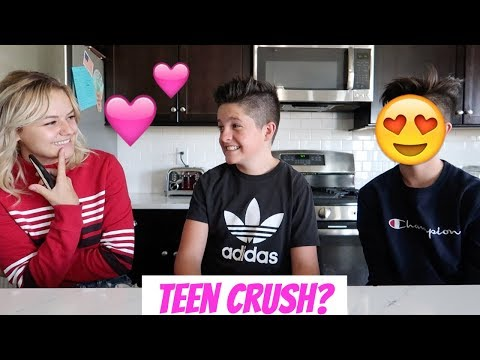DO YOU HAVE A CRUSH?! With Kesley Jade! | Brock and Boston