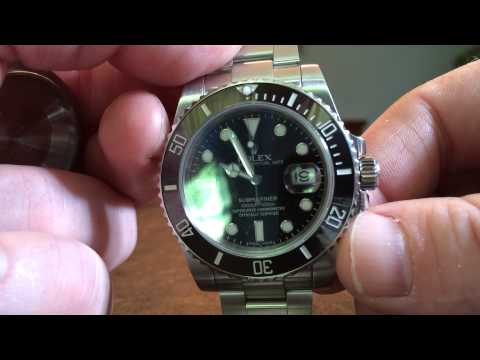 A closer look at my Rolex Submariner movement
