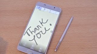 Samsung Galaxy Note 5 - S PEN Review [DETAILED]