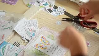 Скрапбукинг конверт видеоурок Polkadot