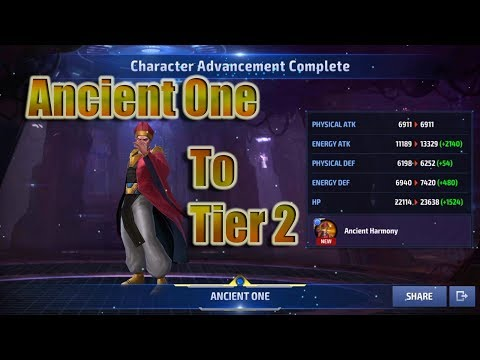 Ancient One to Tier 2 Account Progression and Thoughts (MFF)