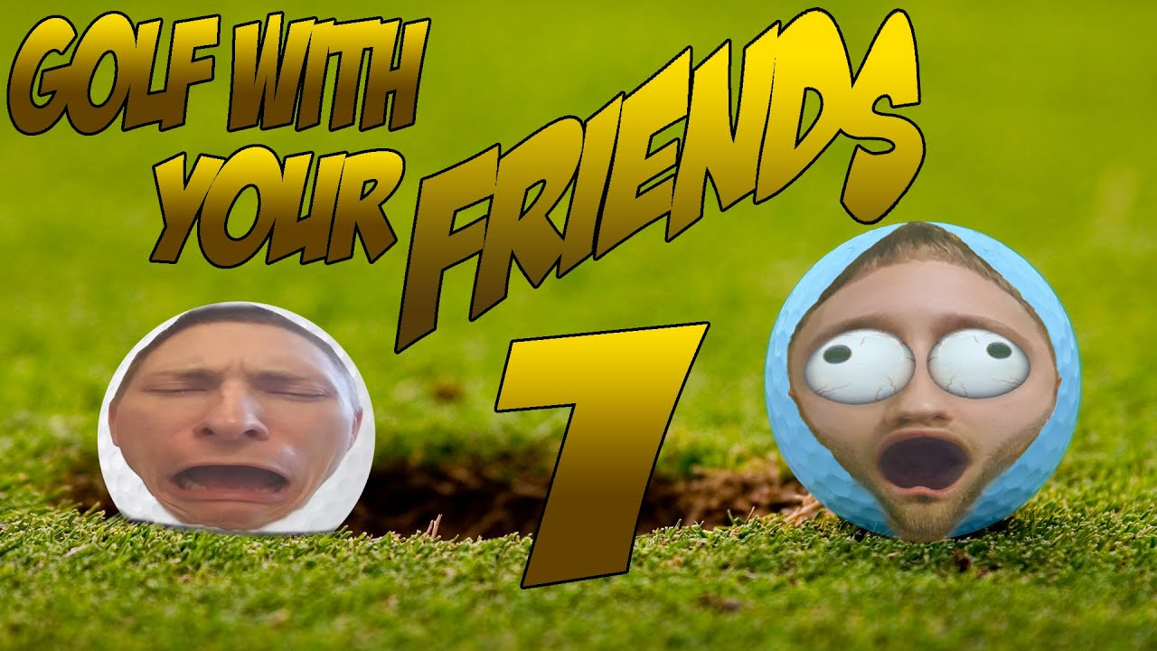 Right In The HOLE!!! | Golf With Your Friends #1 - YouTube