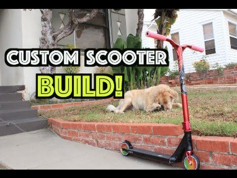 Thumbnail: Building a Custom Scooter!