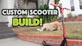 Building a Custom Scooter!