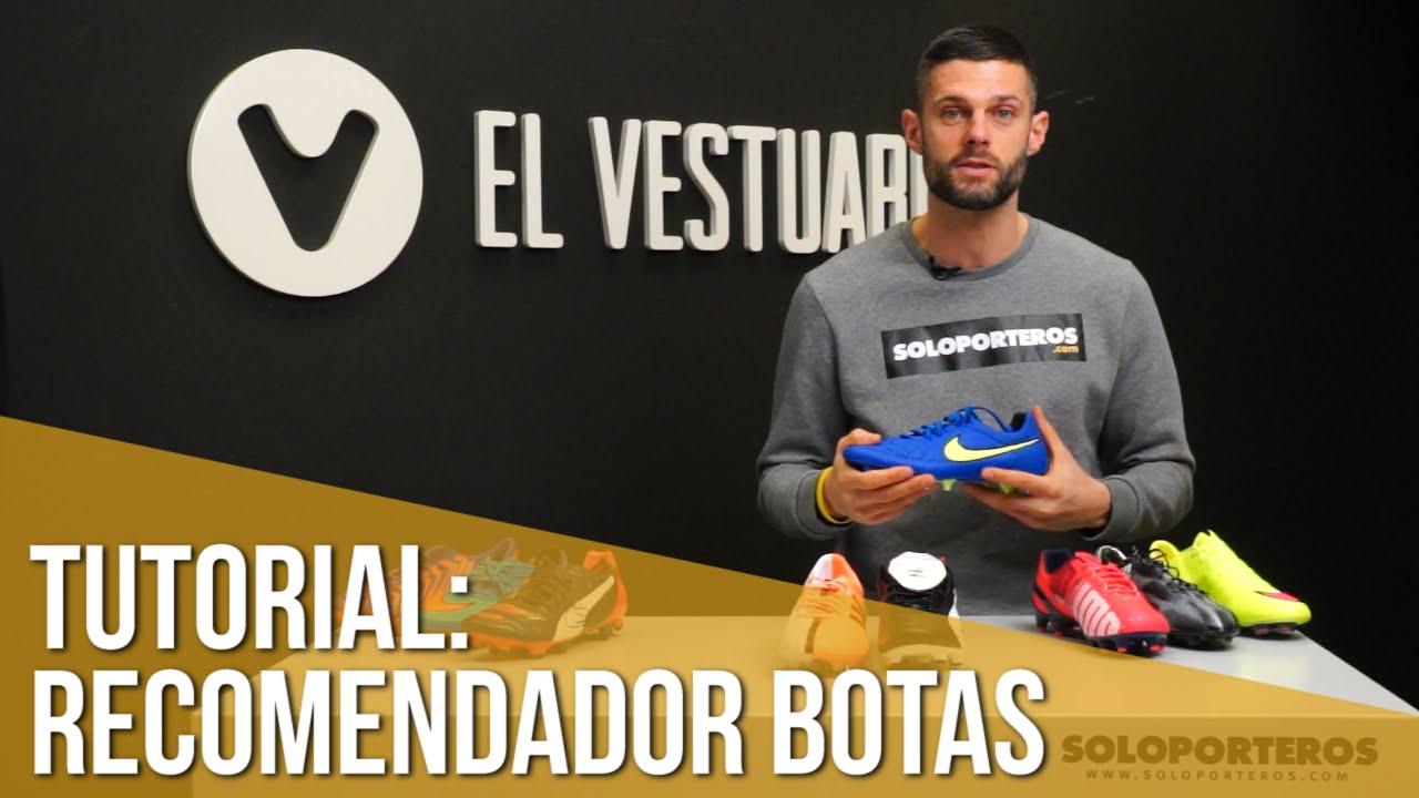 new arrival 2f698 f5415 Tutorial  qué botas usar en función de tu posición en el campo - YouTube
