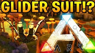 BUILDING A GLIDER SUIT - ARK SURVIVAL EVOLVED ABERRATION EXPANSION #6