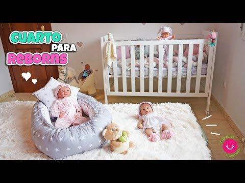 ¡¡Mis Bebés REBORN Han Tenido 6 HABITACIONES!! Cuarto Para Reborns