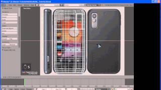 """Blender( Видео урок )"""" Создание мобильного телефона часть 1"""""""