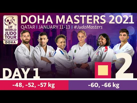 Day 1 - Tatami 2: Doha World Judo Masters 2021