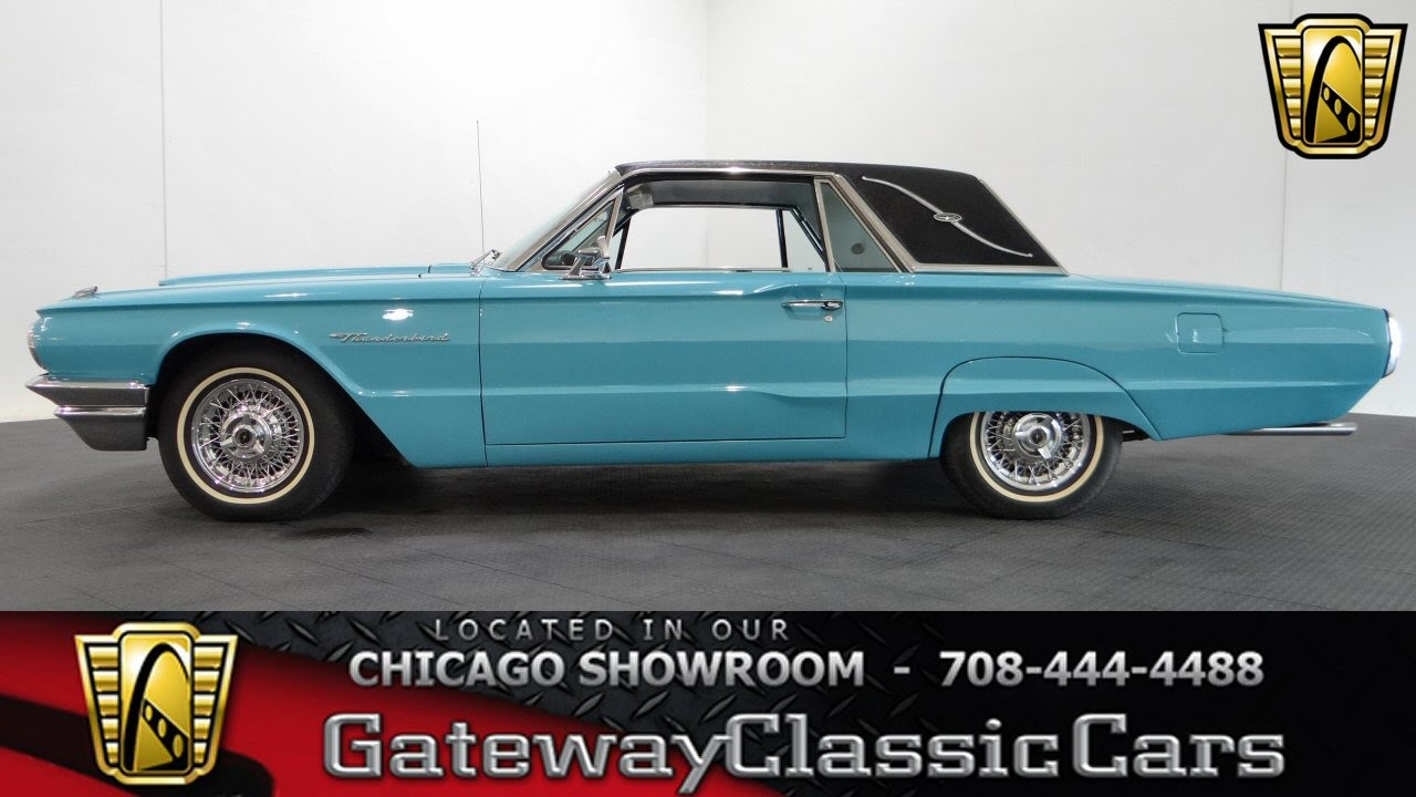 1964 Ford Thunderbird Gateway Classic Cars Chicago 1013 Youtube Wiring