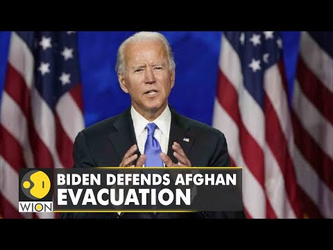 United States President Joe Biden depends Afghan evacuation   Latest World English News   WION News