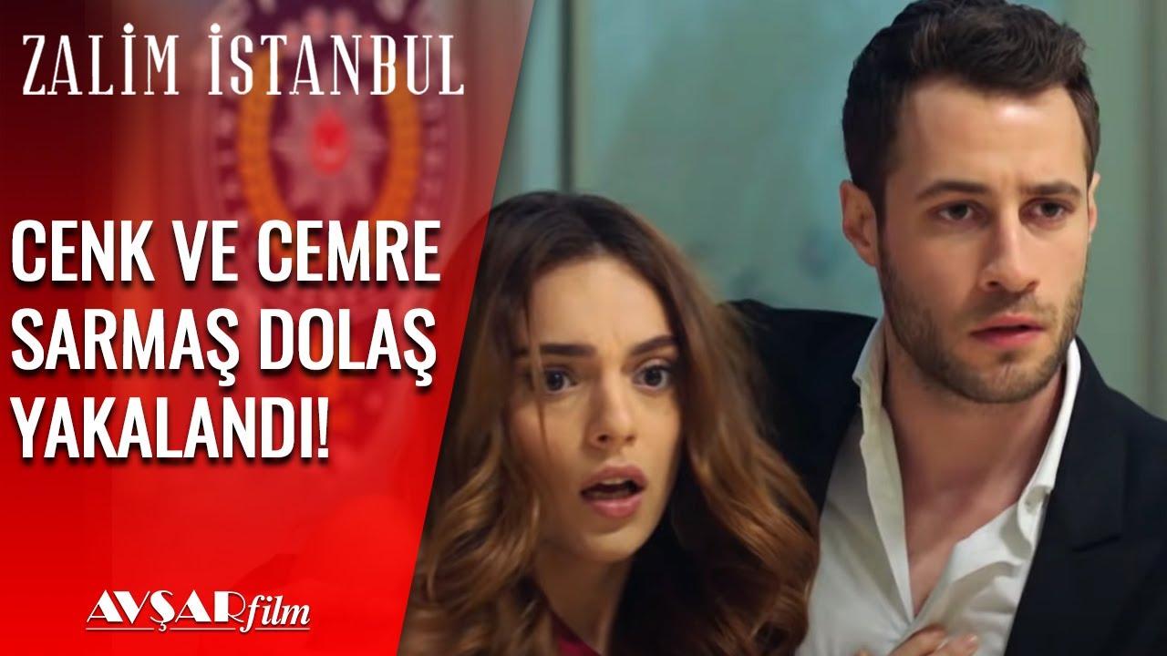 Cenk ve Cemre Sarmaş Dolaş Seher'e Yakalandı👀  - Zalim İstanbul 4. Bölüm