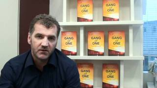 Gang of One author Gary Mulgrew speaking about his children