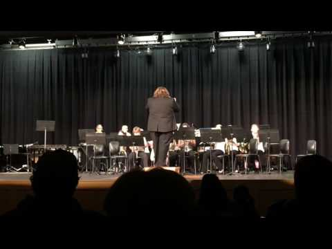 161129 Udall Middle School Band