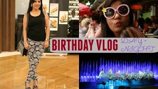 MY Birthday VLOG | Punjab Grill Singapore,Marina Bay Sands & Sentosa SuperPrincessjo