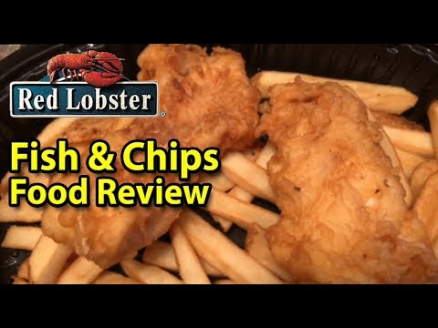 Red Lobster® | Fish & Chips 🐟🥔😃 | Taste Test & Review | JKMCraveTV
