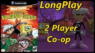 Video Nicktoons: Battle for Volcano Island - Longplay 2 Player Co-op Full Game Walkthrough (No Commentary) download MP3, 3GP, MP4, WEBM, AVI, FLV November 2018