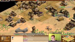 AoE2 Insane Japanese War - Hera vs TheMax