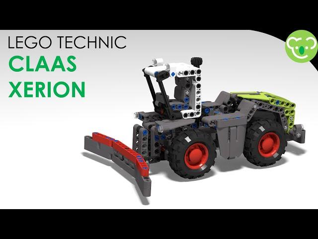Claas Xerion - LEGO Technic MOC