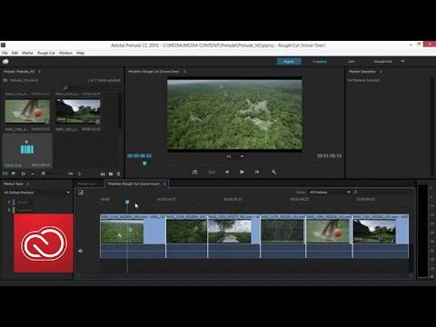 Voice Over Recording - Adobe Prelude (2015)  | Adobe Creative Cloud