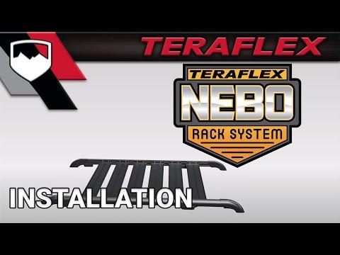 TeraFlex Install: JK Nebo Roof Rack & Slats