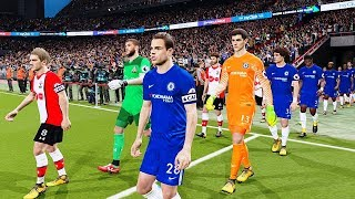Southampton vs Chelsea | Premier League 14 April 2018 Gameplay