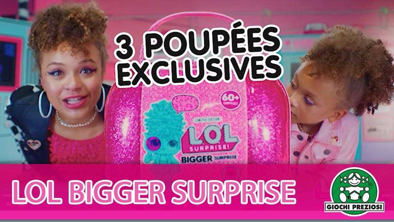L.O.L Surprise / Bigger Surprise / Pub TV / Giochi France
