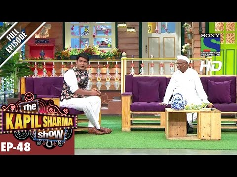 The Kapil Sharma Show - दी कपिल शर्मा शो–Ep 48–Anna Hazare in Kapil's Show–2nd October 2016